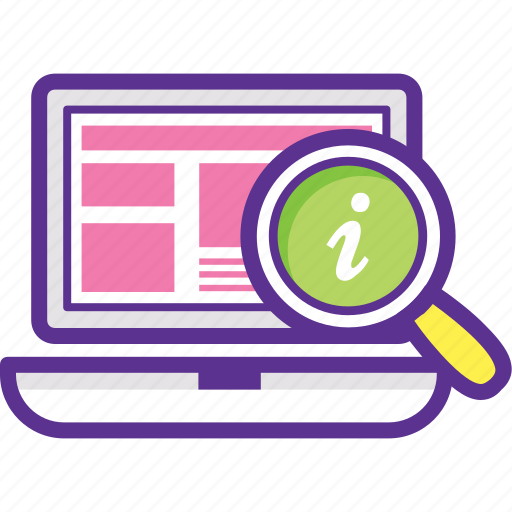find a domain, get info, info domains, search results, website info icon