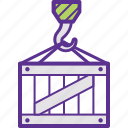 cargo, consignment, freight, load, shipment icon