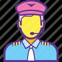 cargo agent, cargo representative, cargo service, freight agent, logistics manager icon