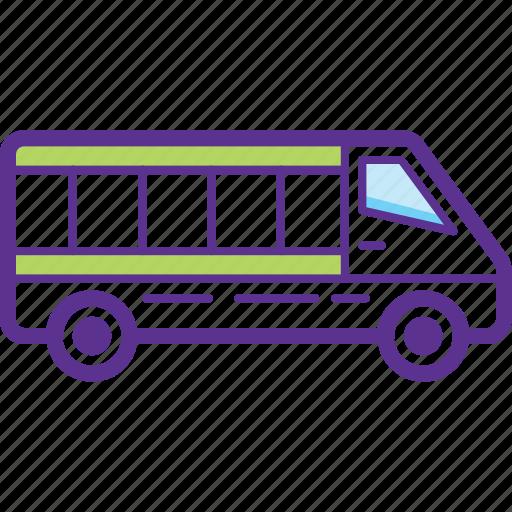 Bus, minibus, transport, van, vehicle icon - Download on Iconfinder