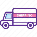 freight, shipment, shipping, transport, transportation icon