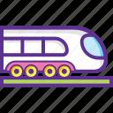 bullet train, railway, train, tram, transport