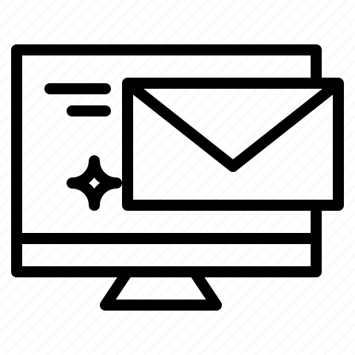 communications, email, envelope, mail, message icon