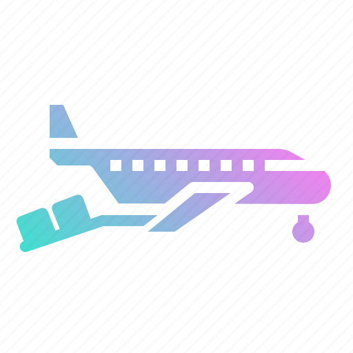 airplane, cargo, delivery, logistic, plane icon