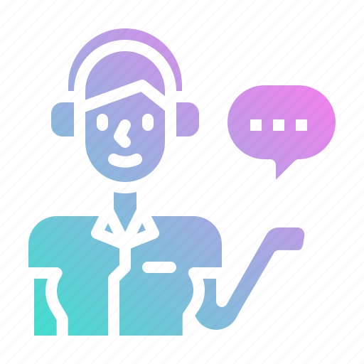 call, customer, professions, service, support icon