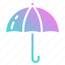 day, dry, keep, rain, umbrella icon