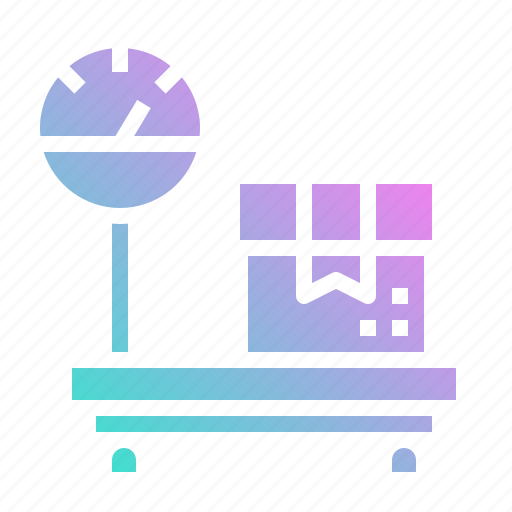 balance, package, scale, shipping, weight icon