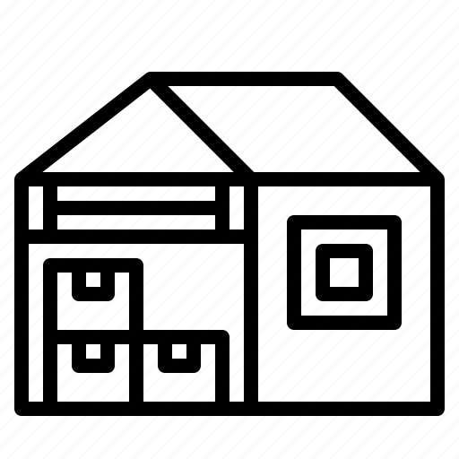 buildings, factories, stocks, storage, warehouse icon