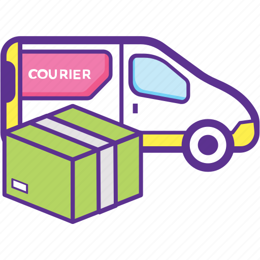 Commercial vehicle, delivery van, pickup truck, shipping van, utility van icon - Download on Iconfinder