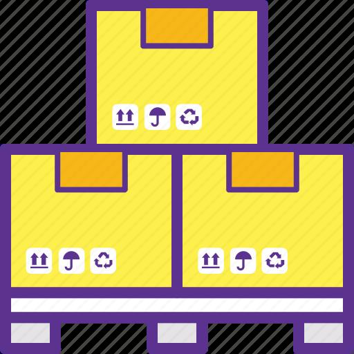 delivery stack, storage, storage unit, storehouse, warehouse icon