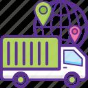 global logistics, international cargo, international freight, international shipment, worldwide deliveries