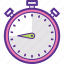 chronometer, clock, stopwatch, timer, watch icon