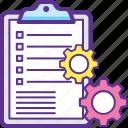 business terms, logistics activities, logistics management, logistics plans, supply chain management icon