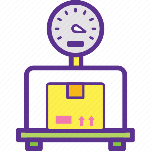 Industrial scale, mechanical scale, package weighing, weighing, weight scale icon - Download on Iconfinder