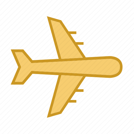 delivery, logistics, plane, transport, transportation icon