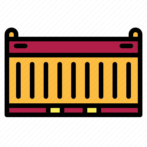 container, delivery, logistics, storage, transportation icon