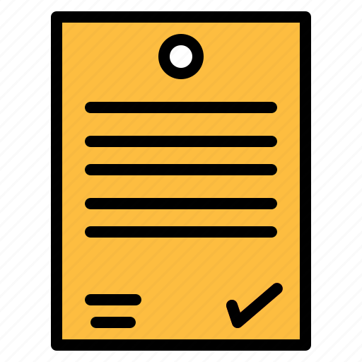 business, contract, document, paper, signing, writing icon