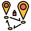 gps, locations, map, pin, position