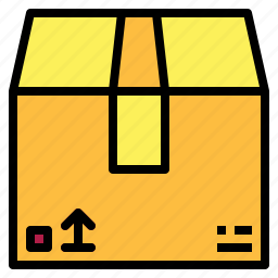 box, cargo, package, packaging, shipping, storage icon