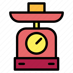 balance, scale, weight, wellness icon