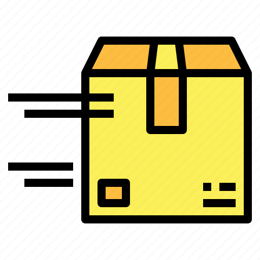 box, cardboard, delivery, packaging, shipping icon