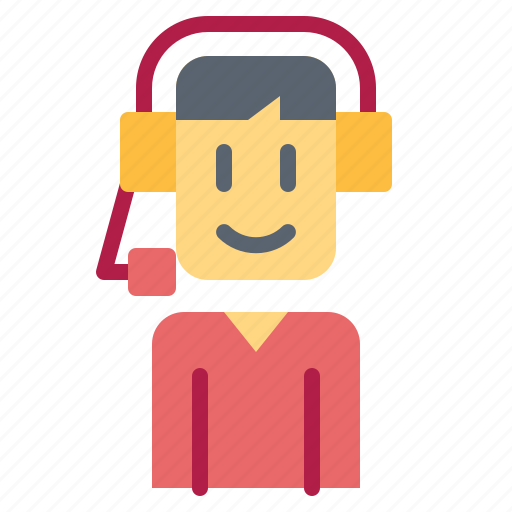 call, center, distribution, online, support icon