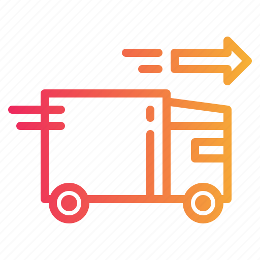 cargo, delivery, transport, truck, vehicle icon