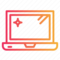 computer, digital, electric, laptop, technology icon