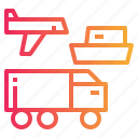 delivery, logistics, transport, transportation, travel icon