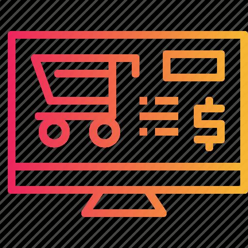 cart, marketing, online, shop, website icon