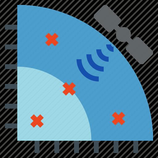 Coordinate, graph, mark, point, sattelite, signal icon - Download on Iconfinder