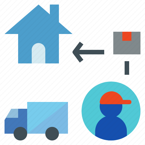 Carry, courier, delivery, parcel, truck icon - Download on Iconfinder