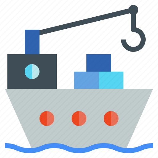 Cargo, carry, freighter, logistics, ship, vessel icon - Download on Iconfinder