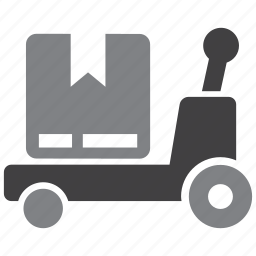 crate, pallet, truck, warehouse icon