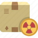 dangerous, dangerous goods, goods, hazardous goos icon