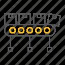 belt, box, boxes, cardboard, conveyor, factory, industry