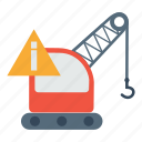 crain, export, lift, logistic, parcel, transport icon
