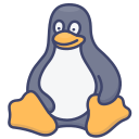 linux, logo, operating, system icon