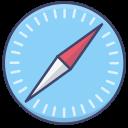 browser, logo, mac, safari icon