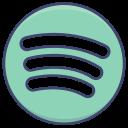 logo, platform, spotify icon