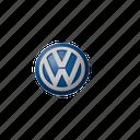 58, logo, volkswagen icon