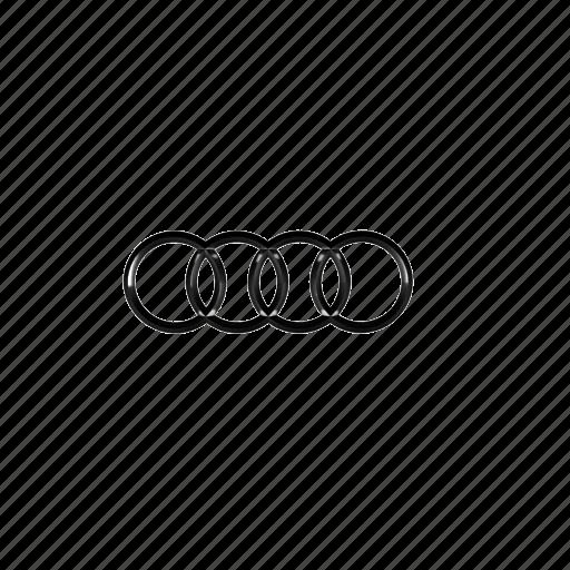audi logo transparent. 48 audi logo icon transparent