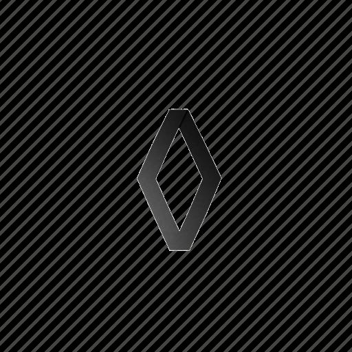 51, logo, renault icon