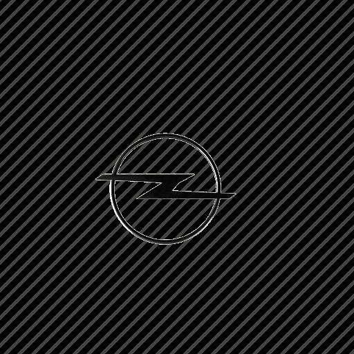 52, logo, opel icon