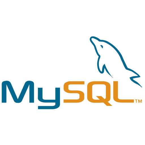 code, development, logo, mysql icon