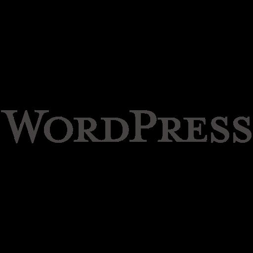 blog, blogging, cms, logo, wordpress, wordpress icon icon