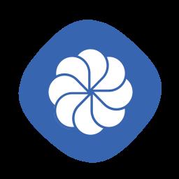 alfresco, coding, development, js, logo, script icon