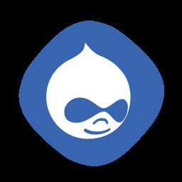 cms, drupal, logo, web icon