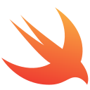 apple, bird, code, ios, logo, swift icon