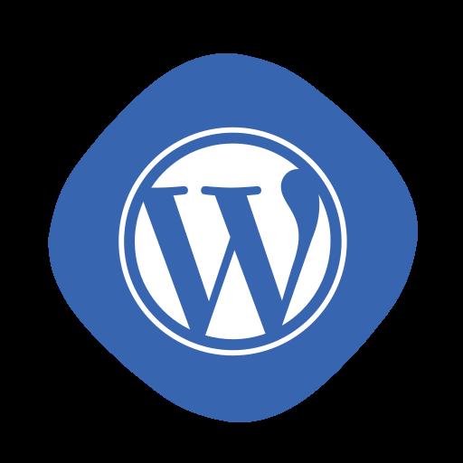 blogging, coding, development, logo, wordpress, wp, writing icon